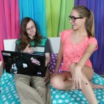 Cadence Lux seduces her nerdy tutor