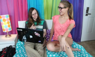 Cadence Lux seduces her nerdy tutor