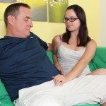 Jennifer Bliss seduces a much older man