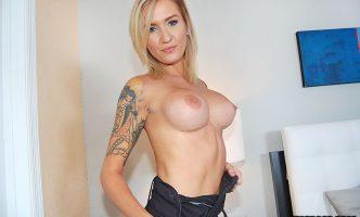 reagan Lush topless handjob porn