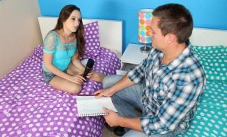 Ashlyn Taylor seduces her tutor