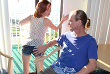 Alyssa Hart Stroking Hard To Milk Monster Cock Of Mr. Johnson - Picture 1