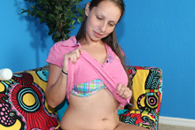 Cute Teen Zoe Stroking Her Step Brothers - Picture 4
