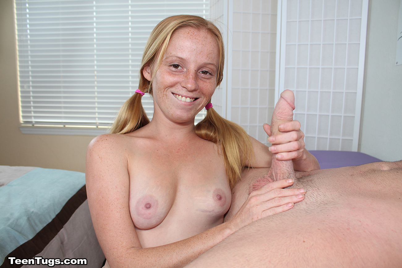 Free young handjob happens
